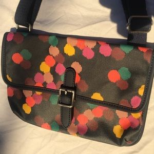 Colorful fossil purse
